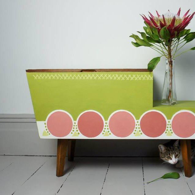 Kriedová farba na nábytok, chalk paint od Annie Sloan.