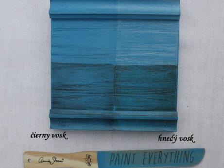 Vzorka zavoskovanej kriedovej farby Annie Sloan giverny.