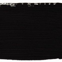 Athenian black. Sýta dekoratívna kriedová farba, temná čierna.