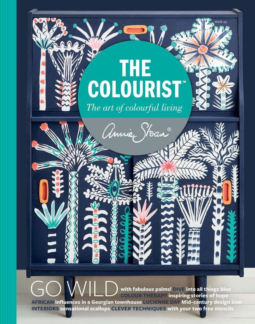 Annie Sloan colourist.