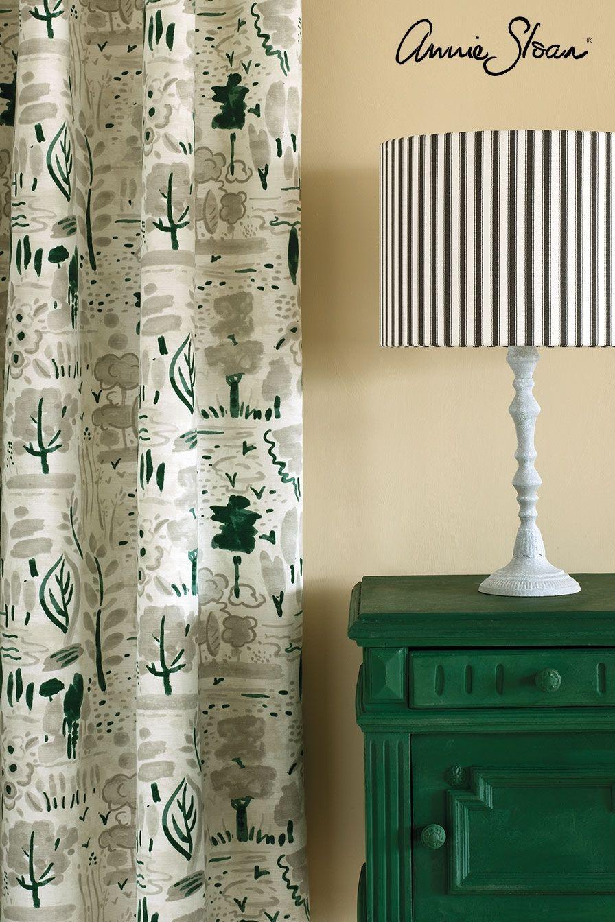 amsterdam green aranžmán, kriedová farba na nábytok Annie Sloan