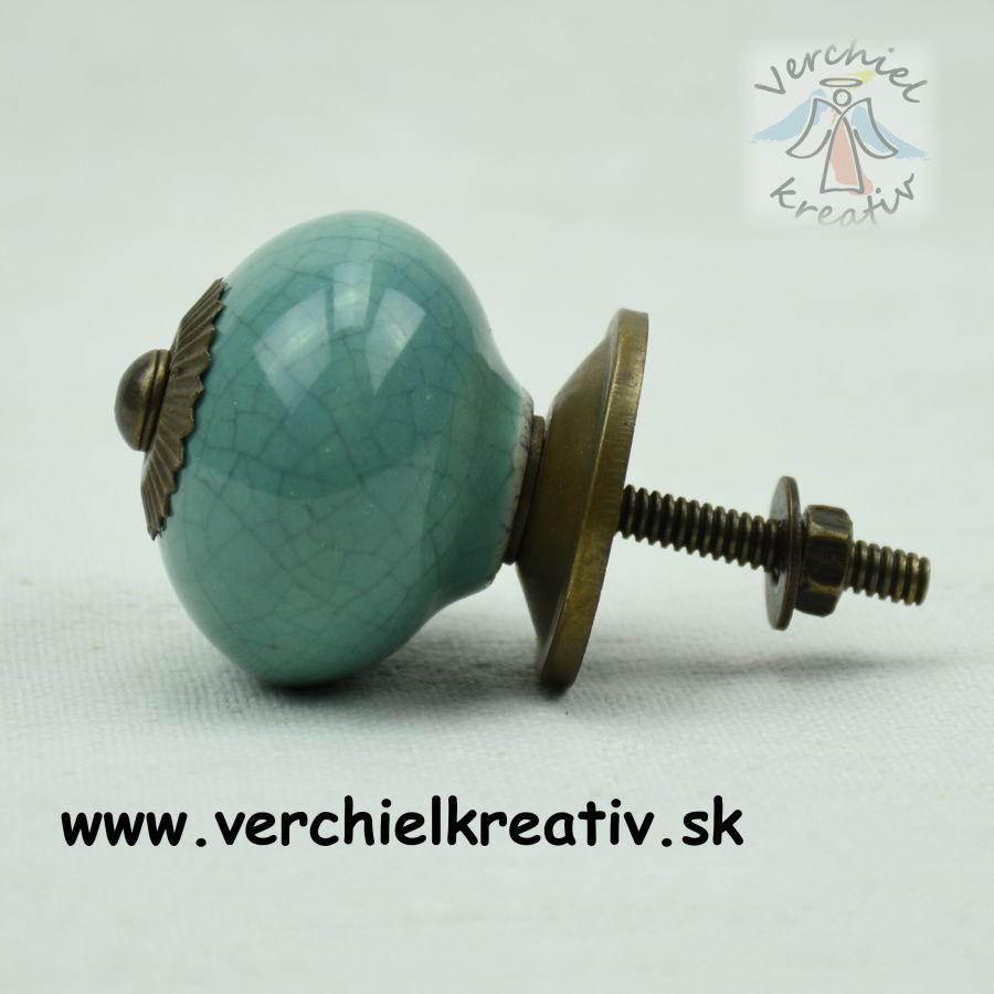 úchytka modrozelená guľka
