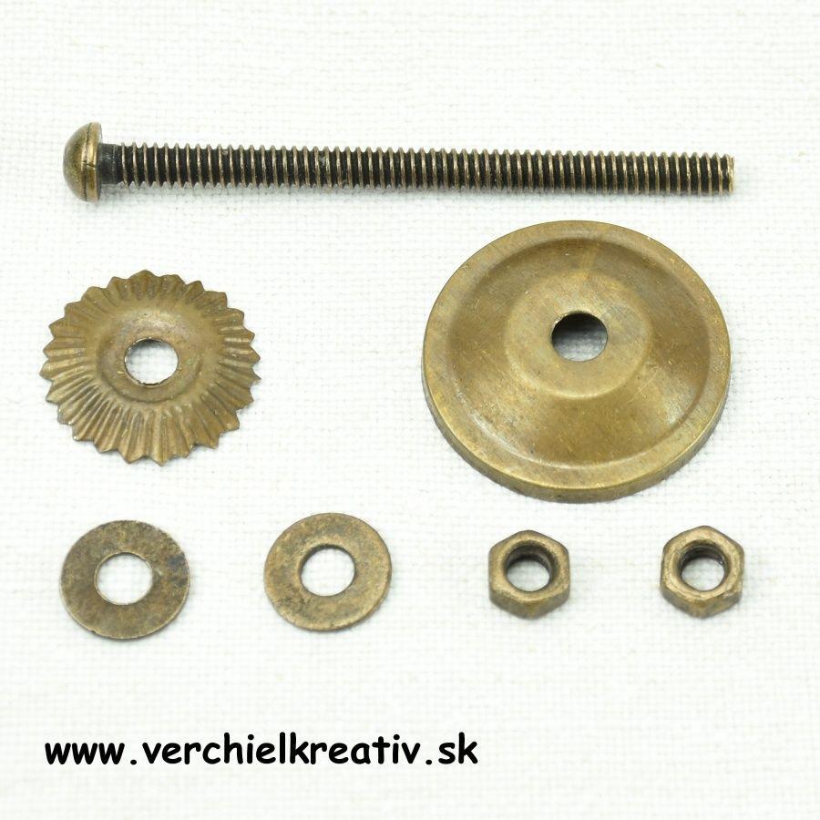 komponenty na montáž úchytky
