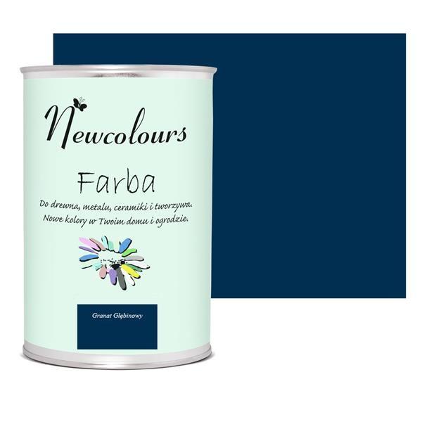 hlbinná modrá Newcolours